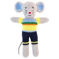 Global Affair Kuscheltier Maus, blau