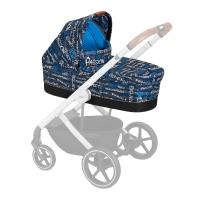 Cybex Kinderwagenaufsatz S Fashion Line, Trust (Blau)