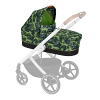 Cybex Kinderwagenaufsatz S Fashion Line, Respect (Grün)