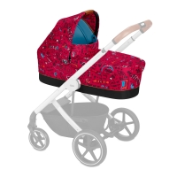 Cybex Kinderwagenaufsatz S Fashion Line, Love (Rot)