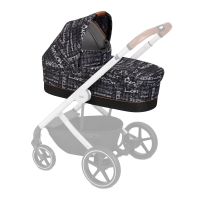 Cybex Kinderwagenaufsatz S Fashion Line, Strength (Dunkelgrau)