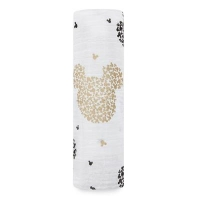 Aden Anais Mulltuch Swaddle, Mickeys 90th - Scatter