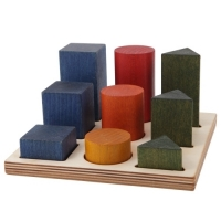 Woodenstory Formen - Legespiel XL bunt