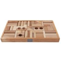 Woodenstory Holzklötze natur (FSC), 54 Teile