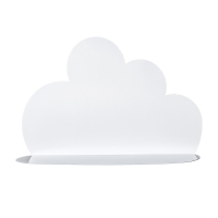 Bloomingville Wandregal Wolke, weiss