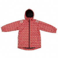 Ducksday Regenjacke, Funky Red