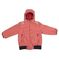 Ducksday wendbare Jacke, Funky Red