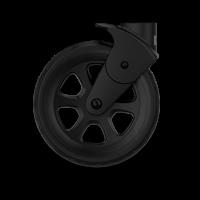 JOOLZ Geo2 Vorderrad Schwenkräder-Set (2 Stk.), Schwarz