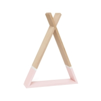 Petit Monkey Wandregal, Tipi - rosa