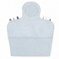 Snoozebaby Wickelmatte Easy Changing, Cloudy Blue