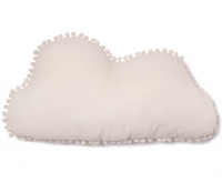 Nobodinoz Marshmallow Cloud Kissen, natural