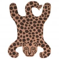 Ferm Living Teppich, Leopard