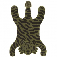 Ferm Living Teppich, Tiger