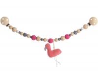 Kikadu Kinderwagenkette, Flamingo