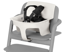 Cybex LEMO Baby Set inkl. Sicherheitsgurte, Porcelaine White 2019