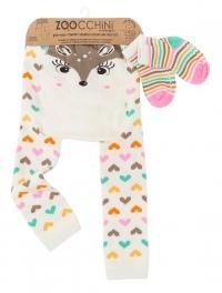 Zoocchini Baby Leggins & Socken Set, Fiona das Rehkitz