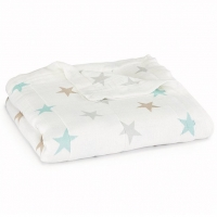 Aden Anais Kuscheldecke Silky Soft Dream Blanket - Milky Way