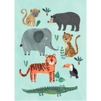 Petit Monkey Poster, Wilde Tiere