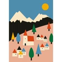 Petit Monkey Poster, Landschaft