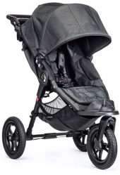 Baby Jogger City Elite inkl. Handbremse, Black Denim Charcoal 2019