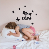 MIMIlou Wandsticker Just a Touch, Mon Cheri