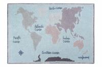 Lorena Canals Teppich, Vintage Map 140 x 200 cm