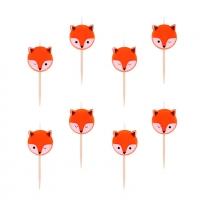 My Little Day Geburtstagskerzen, Mini Fox