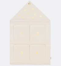 Ferm Living Haus Adventskalender - Off-White