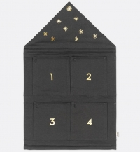 Ferm Living Haus Adventskalender - Dunkelgrün
