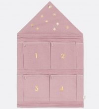 Ferm Living Haus Adventskalender - Rosa