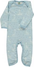 Småfolk Bodysuit Sophie la girafe blau