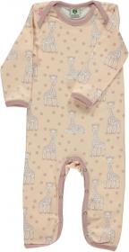 Småfolk Bodysuit Sophie la girafe rosa