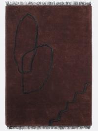 Ferm Living Desert Tufted Teppich - Rotbraun - 200x300 cm