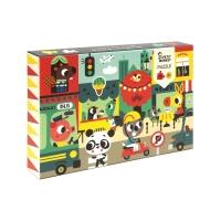 Petit Monkey Puzzle Stadt, 48 Teile