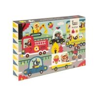 Petit Monkey Puzzle Strasse, 48 Teile