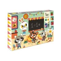 Petit Monkey Puzzle Schule, 48 Teile