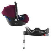 Britax Römer Baby-Safe 2 i-Size inkl. Flex-Base, Burgundy Red 2020