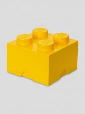 LEGO Brick 4 Storage, Aufbewahrungsbox, gelb