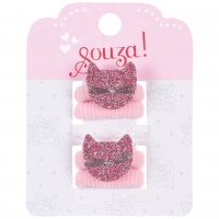 Souza for Kids Haargummi Cat Pink, 2 Stück