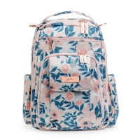Ju-Ju-Be Be Right Back Wickelrucksack, Whimsical Watercolor (Pink Lining)