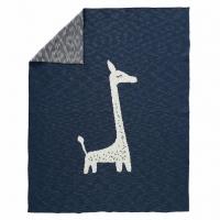 Fresk gestrickte Decke 80x100 - Giraffe