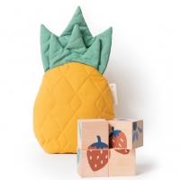 Nobodinoz Holzpuzzle Früchte