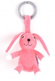 NatureZoo of Denmark Kinderwagen-Spielzeug, Hase, rosa
