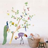 MIMIlou Wandsticker, With The Birds