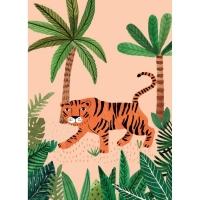 Geburtstagskarte Tiger