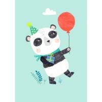 Geburtstagskarte Pandabär