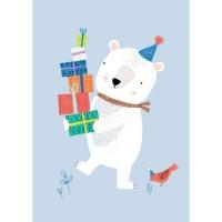 Geburtstagskarte Eisbär