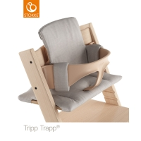 STOKKE Tripp Trapp Zubehör - Kissen, Grey Melange