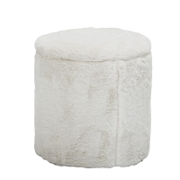 Bloomingville Pouf, weiss