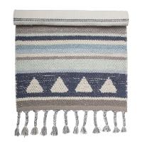 Bloomingville Mini Teppich, blau